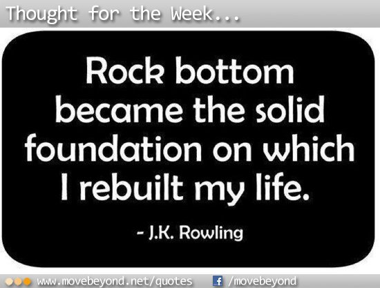 J K Rowling - Rock Bottom