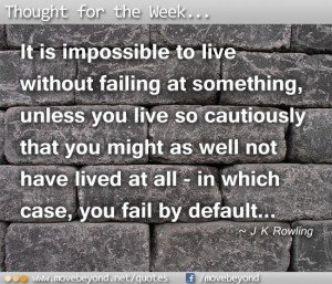 Thought for the Week: 26th Nov 2012