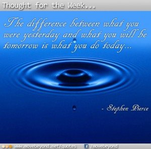 Thought for the Week: 11th March 2013