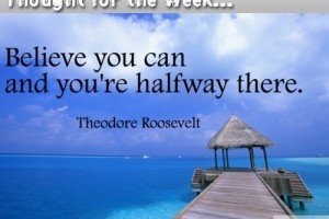 Thought for the Week: 26th August 2013