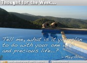 Thought for the Week: 2nd September 2013