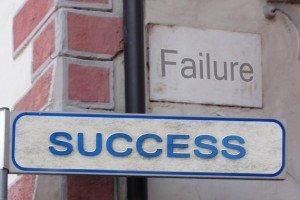 Failing towards success